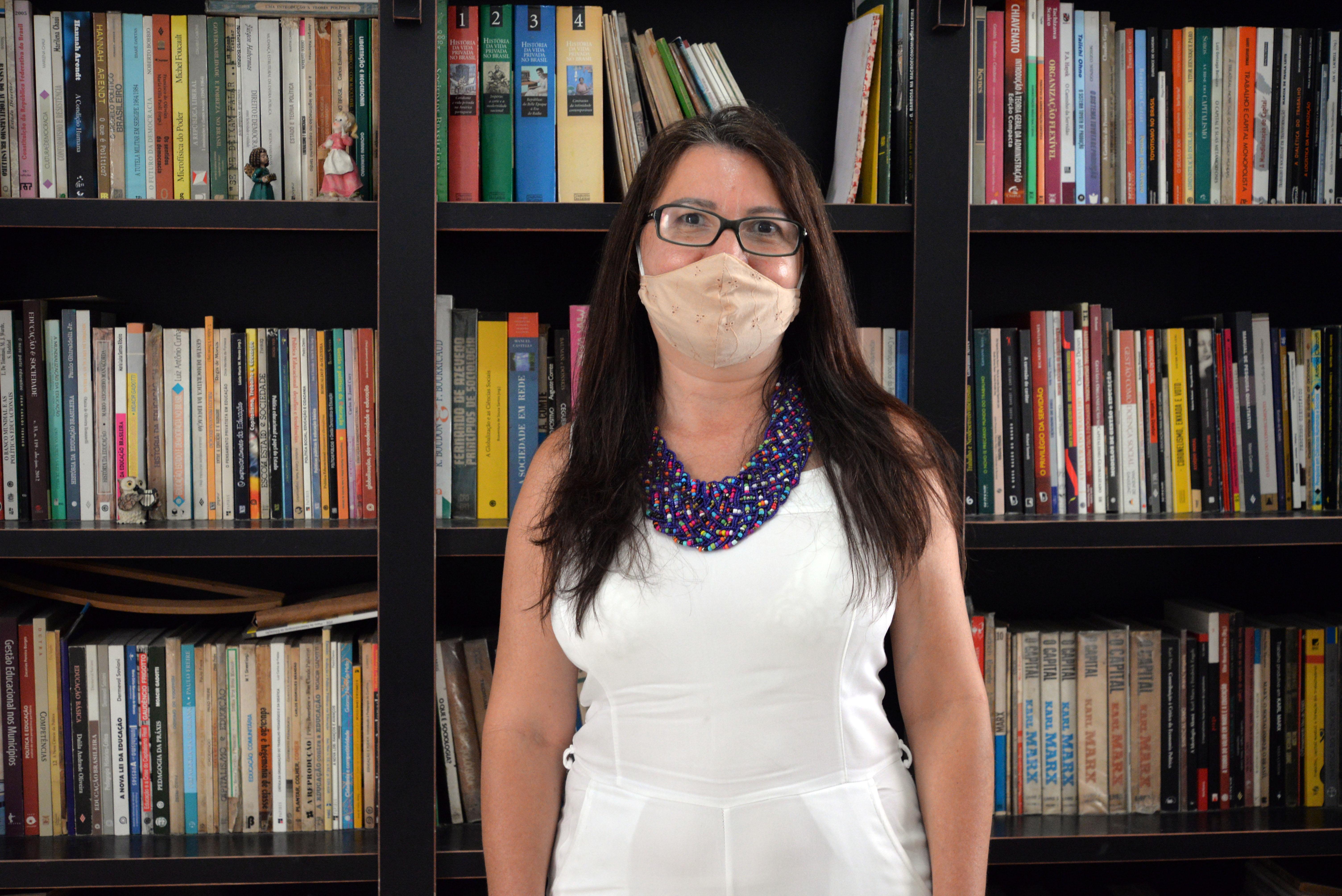 Jeane Caldas, idealizadora do Projeto Traumas Sergipe